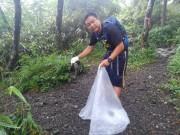 小田原の企業が「金時山 清掃活動」実施 今後も定期的な活動として継続へ