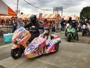 多彩なプログラムで「ゆがわらハロウィン」 仮装バイクパレードも