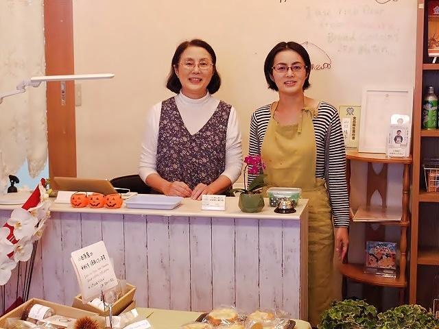 「私が製造して、お店では母が販売します」と山口さん(右)