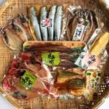 小田原の干物店でお年玉商品「ひものの福袋」 感謝と開運を願って2,018円