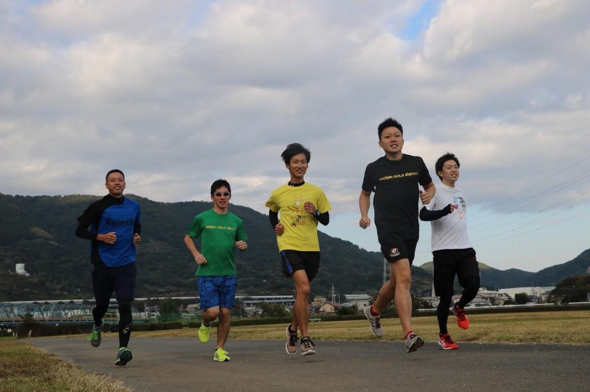 チームで参加するリレーマラソン