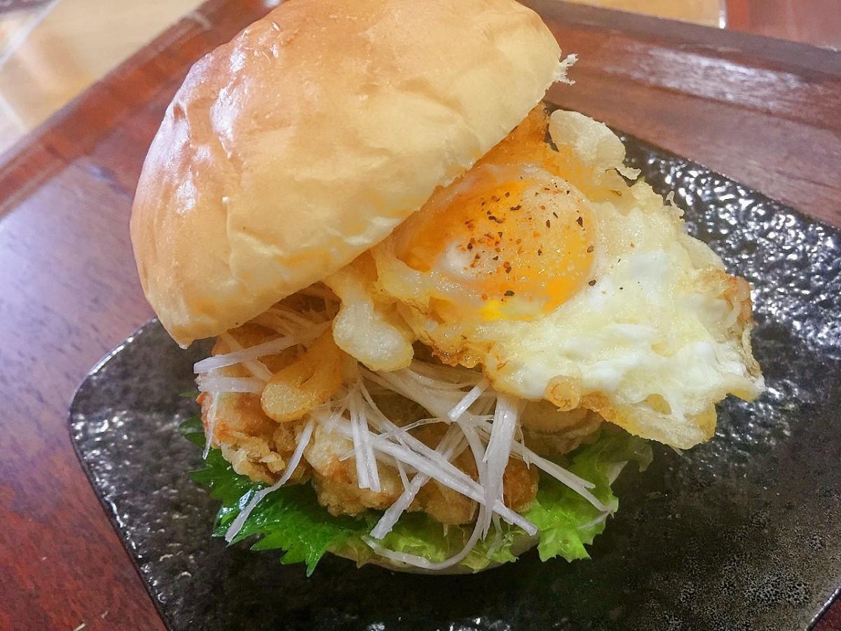 地元食材を使う「満天バーガー」