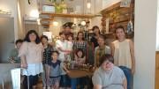 小田原のカフェでハーバリウムワークショップ ファミリーでの参加も