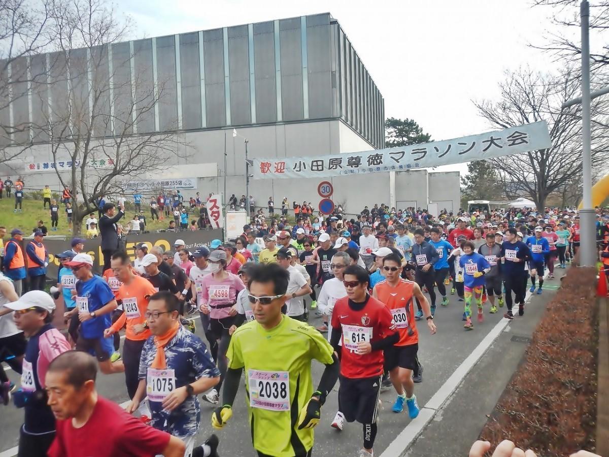 二宮尊徳翁生誕の地で「第32回尊徳マラソン」開催(伴走取材・写真=FUMA)