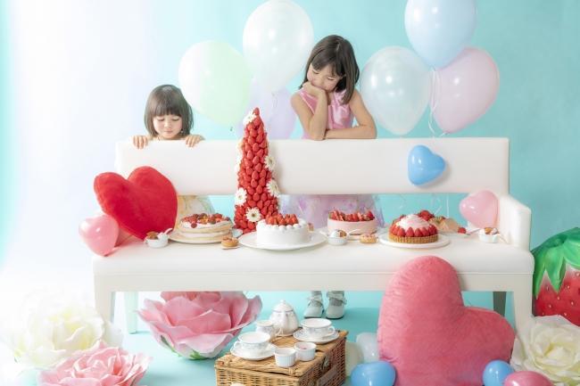 妖精たちのピクニックへご招待「苺のデザート」第2弾は「Fairy tea party」がテーマ