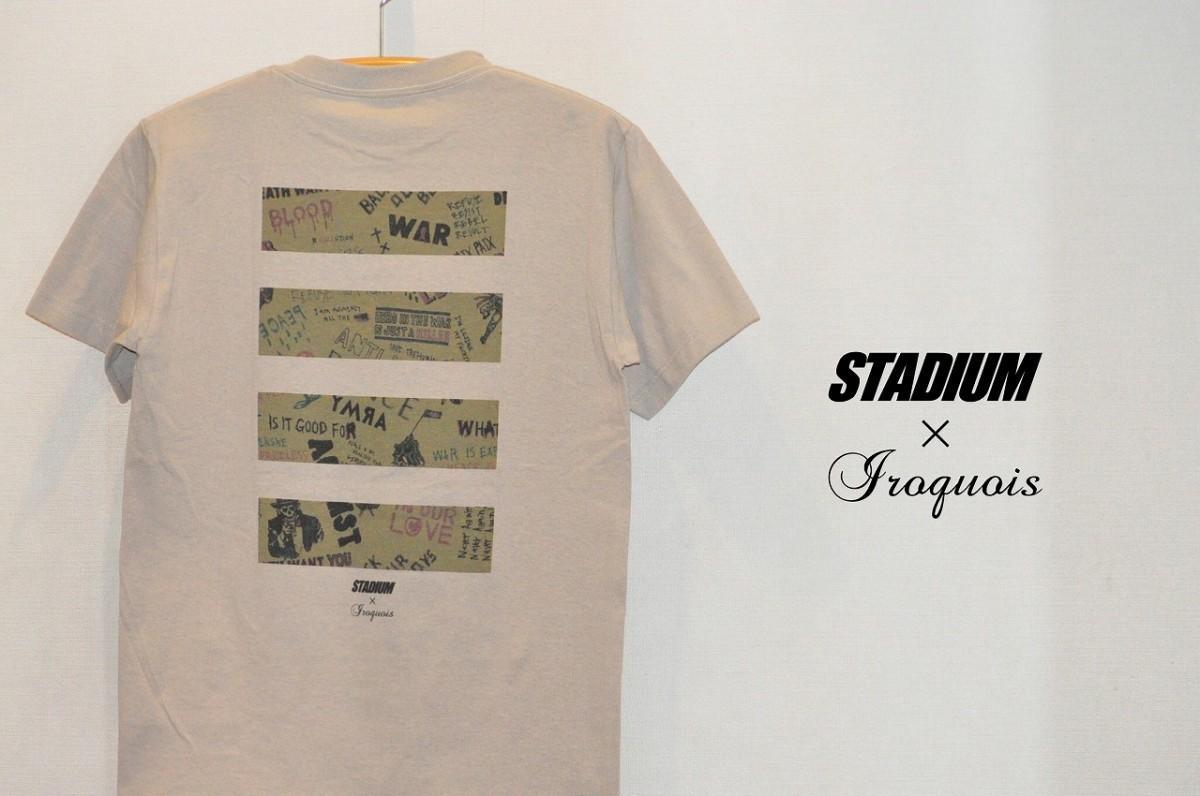 「First&Stadium」と「Iroquois」のコラボTシャツ