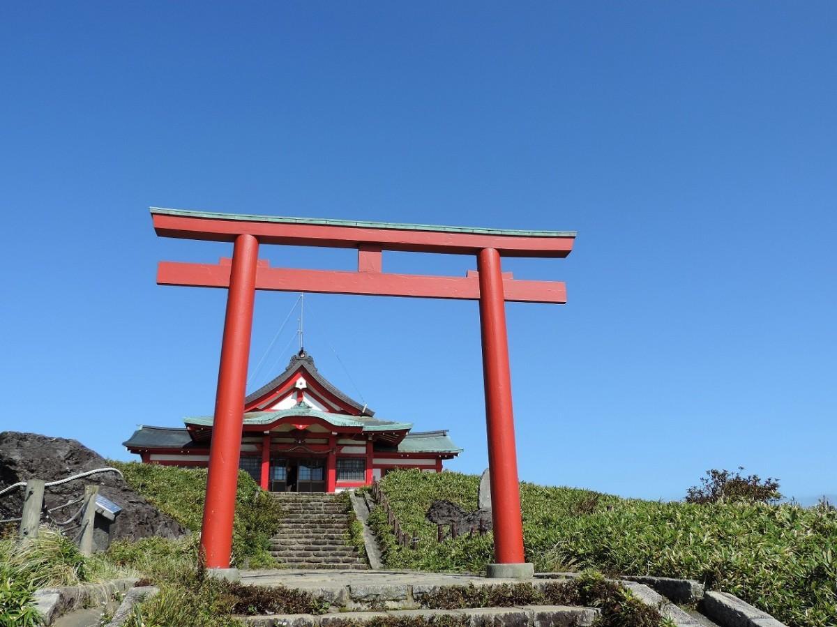 箱根駒ヶ岳山の「箱根神社元宮」