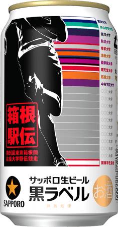 缶パッケージの最終デザインは10月26日に行われる箱根駅伝予選会の後に完成する