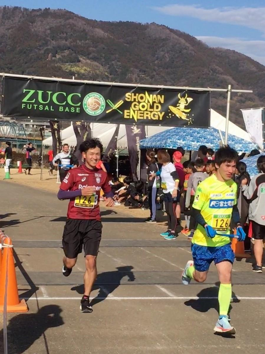 「ZUCC×湘南ゴールドエナジー リレーマラソン」の様子