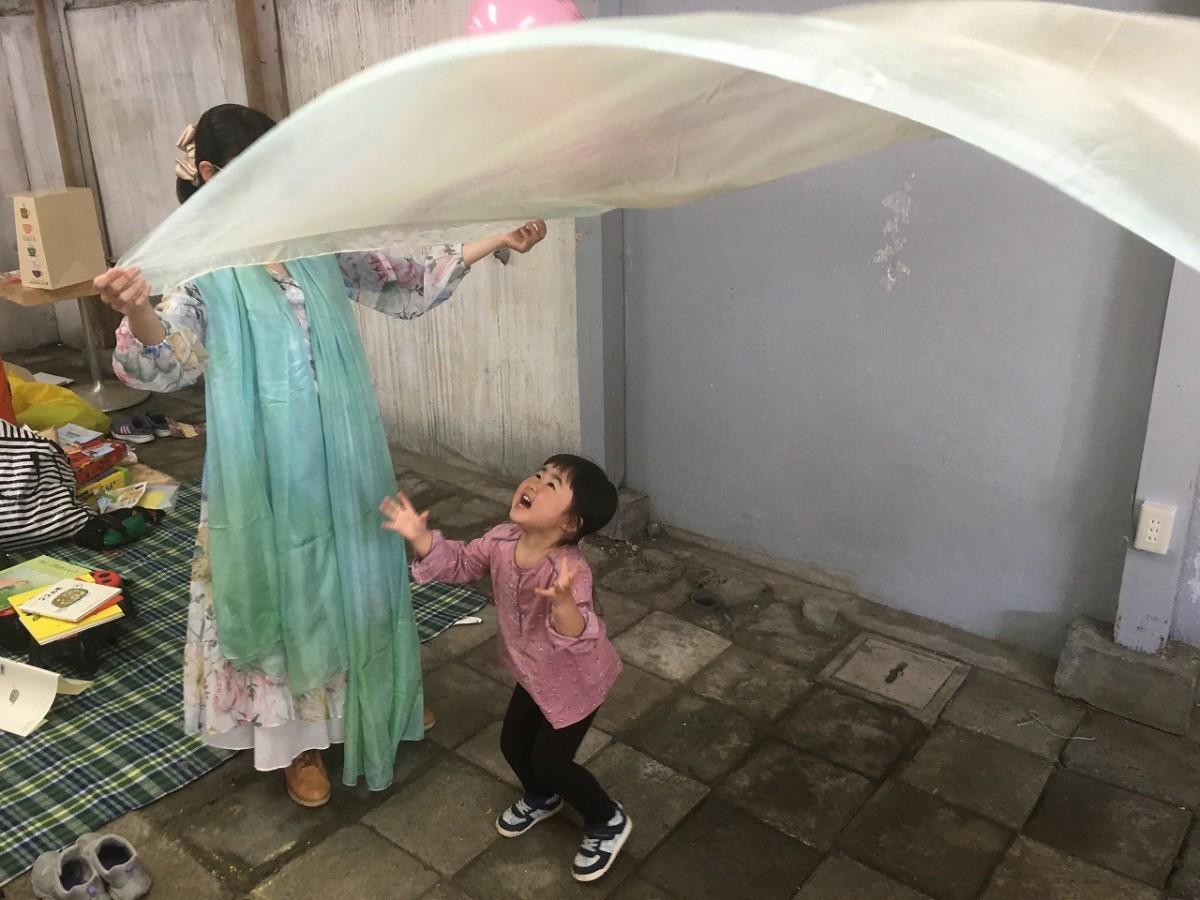 3月11日に開催された第1回「BLEND『PLAY』PARK」。子どもたちの興味を引き付けるコンテンツを用意