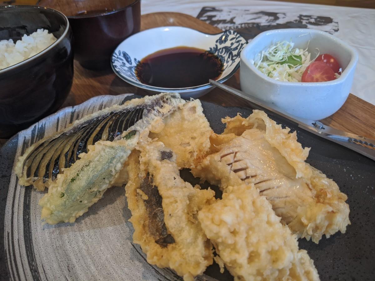 天ぷら満天の「ホルモン天ぷら」