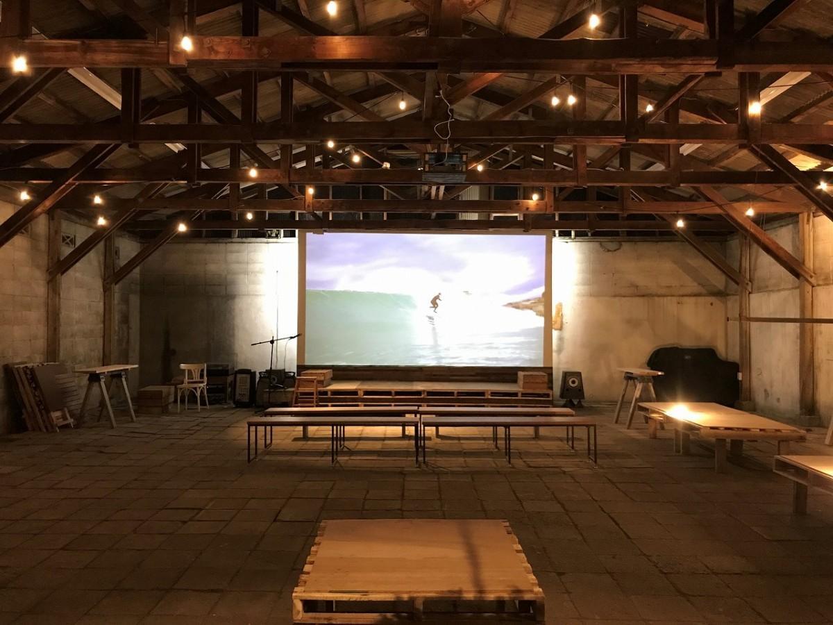 倉庫をイメージしたイベント空間「BLEND PARK 」