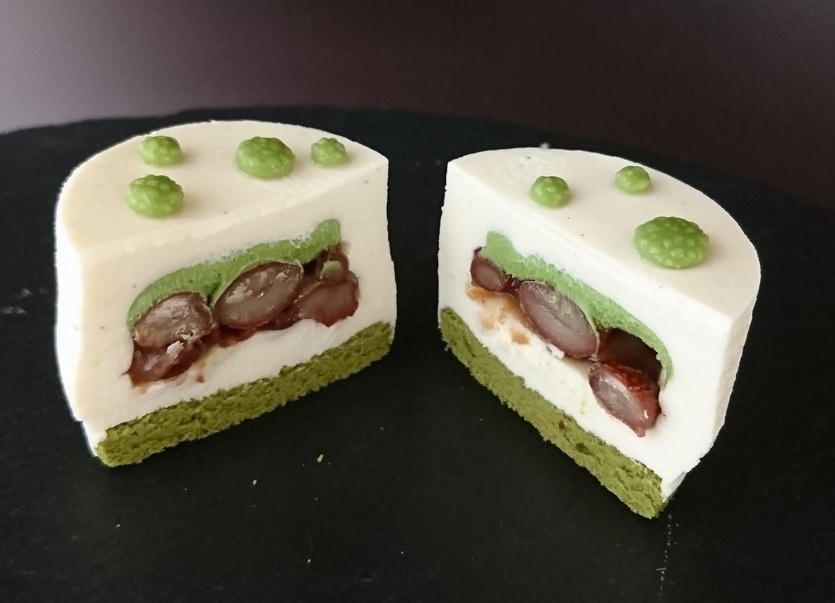 日本に伝わる伝統の食材を使用したケーキ「Wabi-Sabi(わび さび)」