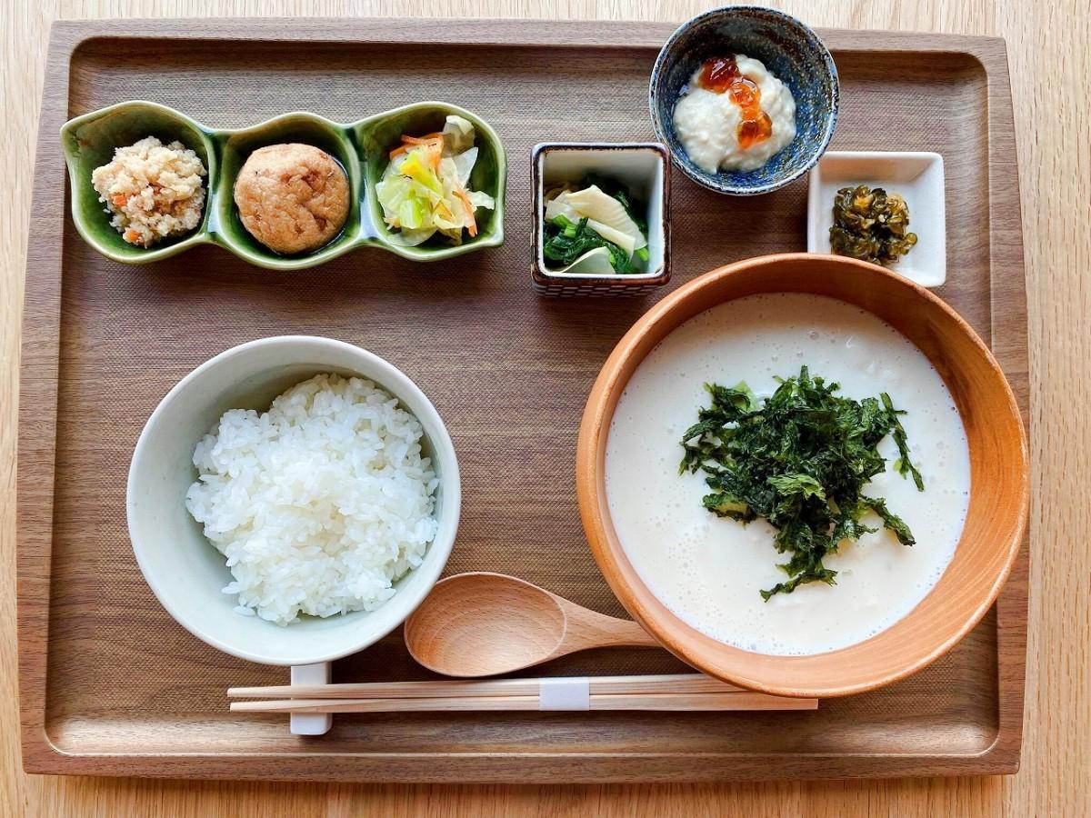湯河原十二庵の秋メニュー「納豆汁御膳~特別~」