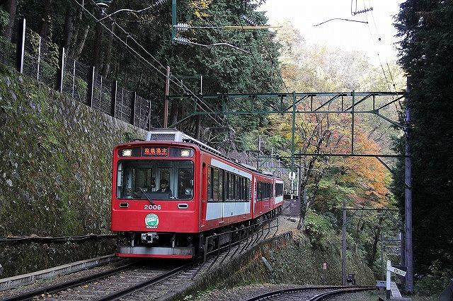 リフレッシュ工事で12月16日~18日の3日間運休する箱根登山鉄道