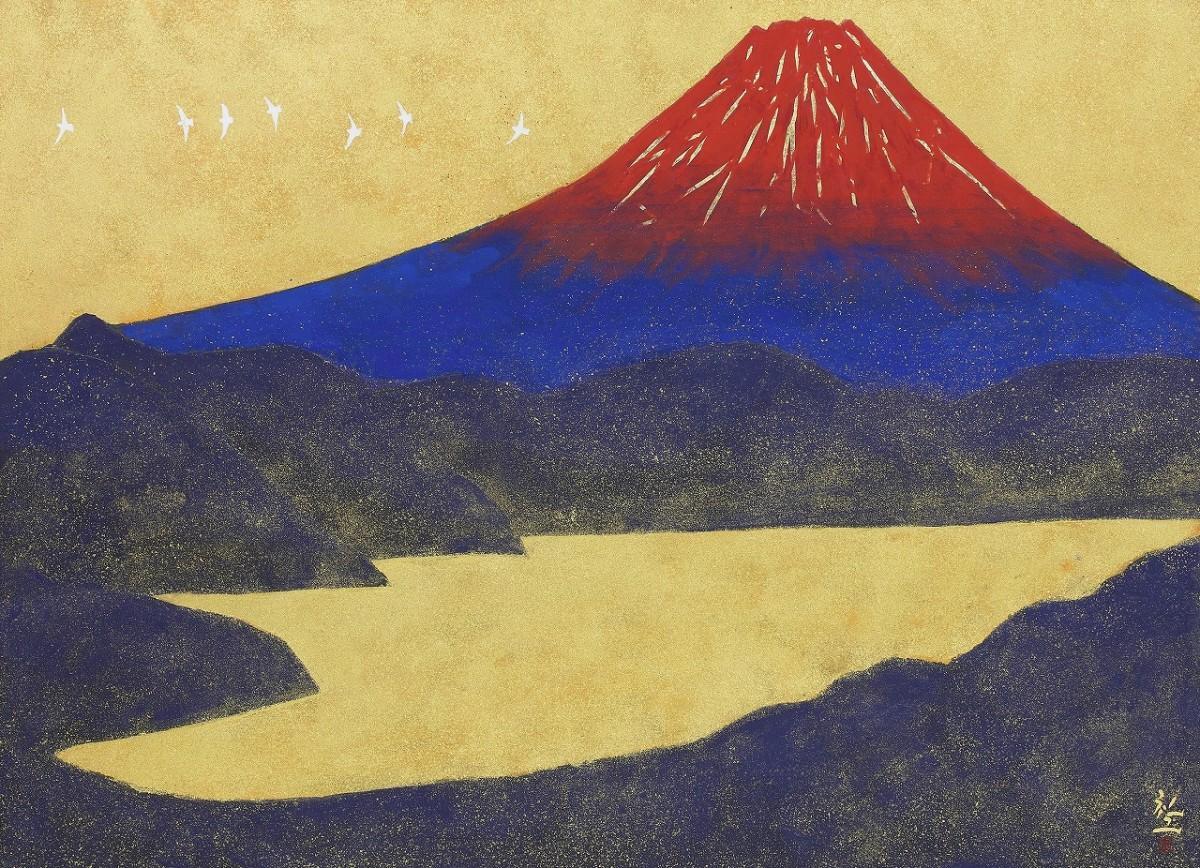 平松礼二「大観山和気香風」(提供=町立湯河原美術館・©Reiji Hiramatsu)