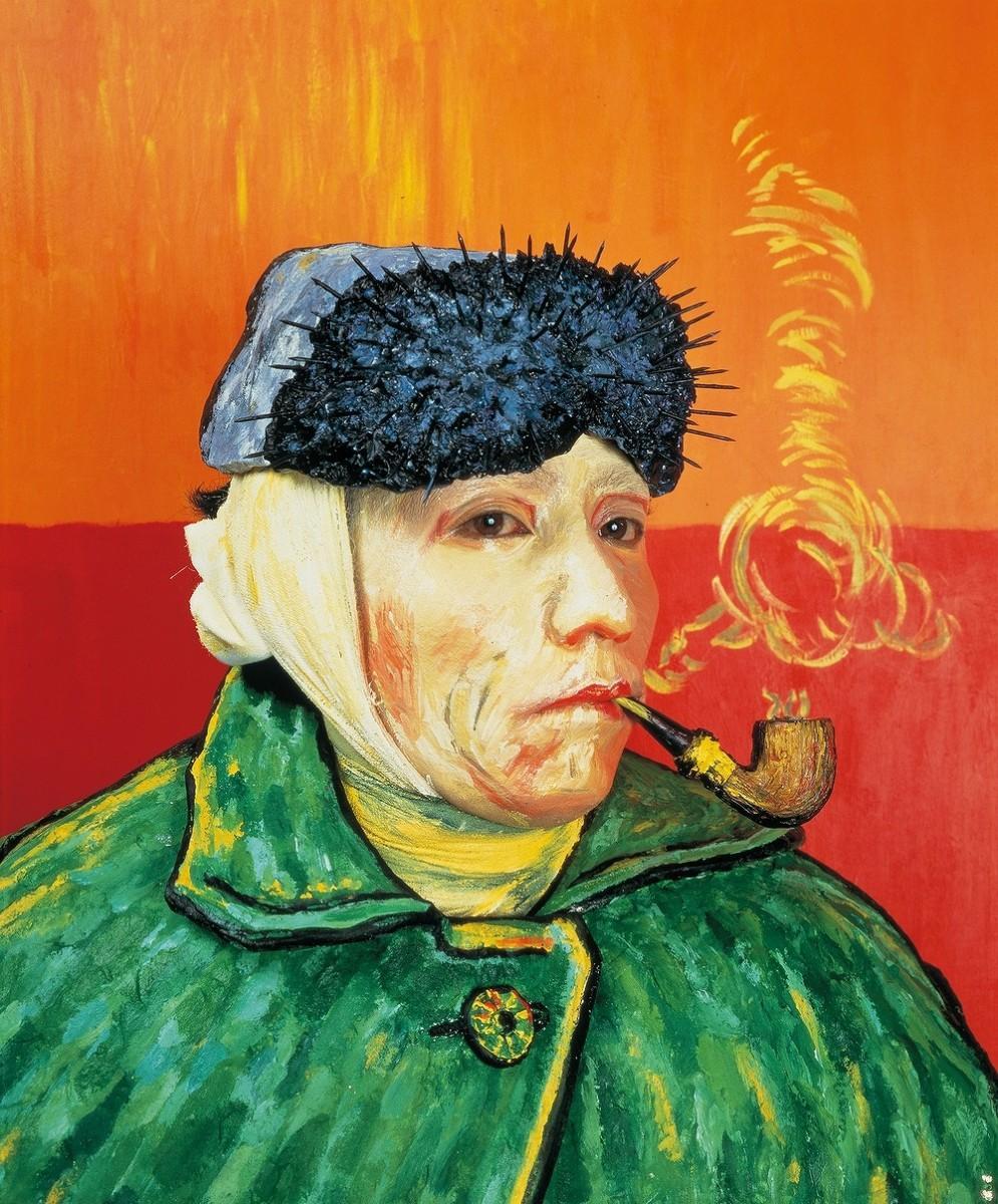 森村泰昌《肖像(ゴッホ)》1985年 高松市美術館