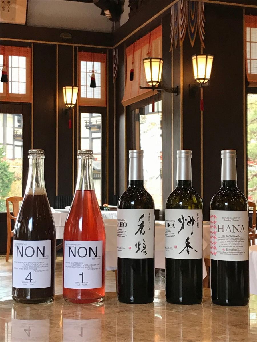 富士屋ホテルが提供する「ノンアルコールペアリング」