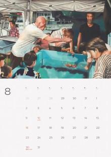 8月から始まる「港町カレンダー」 泊まれる出版社「真鶴出版」が販売