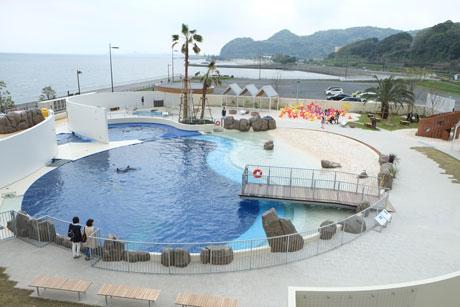 4月18日にオープンする水族館うみたまごの新施設「あそびーち」
