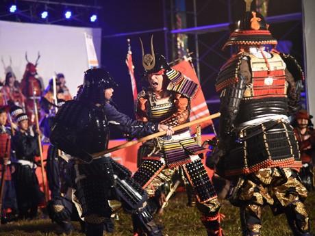 「大野川合戦祭」昨年の様子