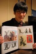 大分怪獣「ブゴン」生みの親・芸短生の松本さん、東京でプロの道へ