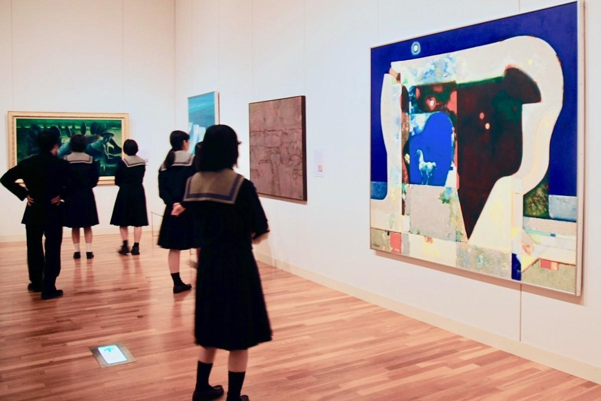 大分洋画100年の歴史をたどる展覧会
