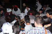 大分市の坂ノ市で「萬弘寺の市」 3,300人が出演、恒例の物々交換も