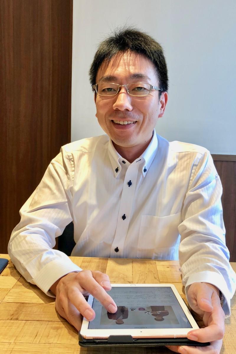 「地元密着型のプロチームに」と語る西村会長