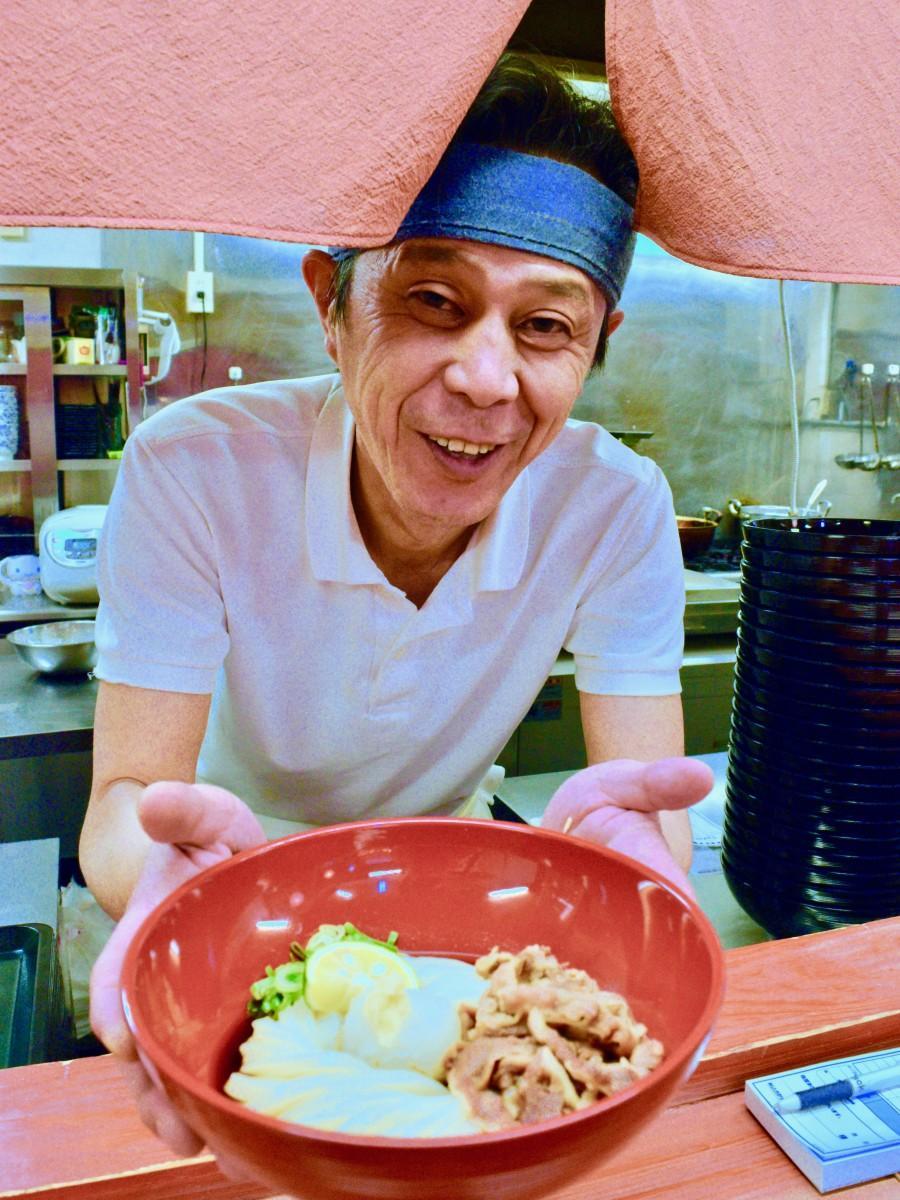 「うどん食堂美咲丸」 を開いた東さん