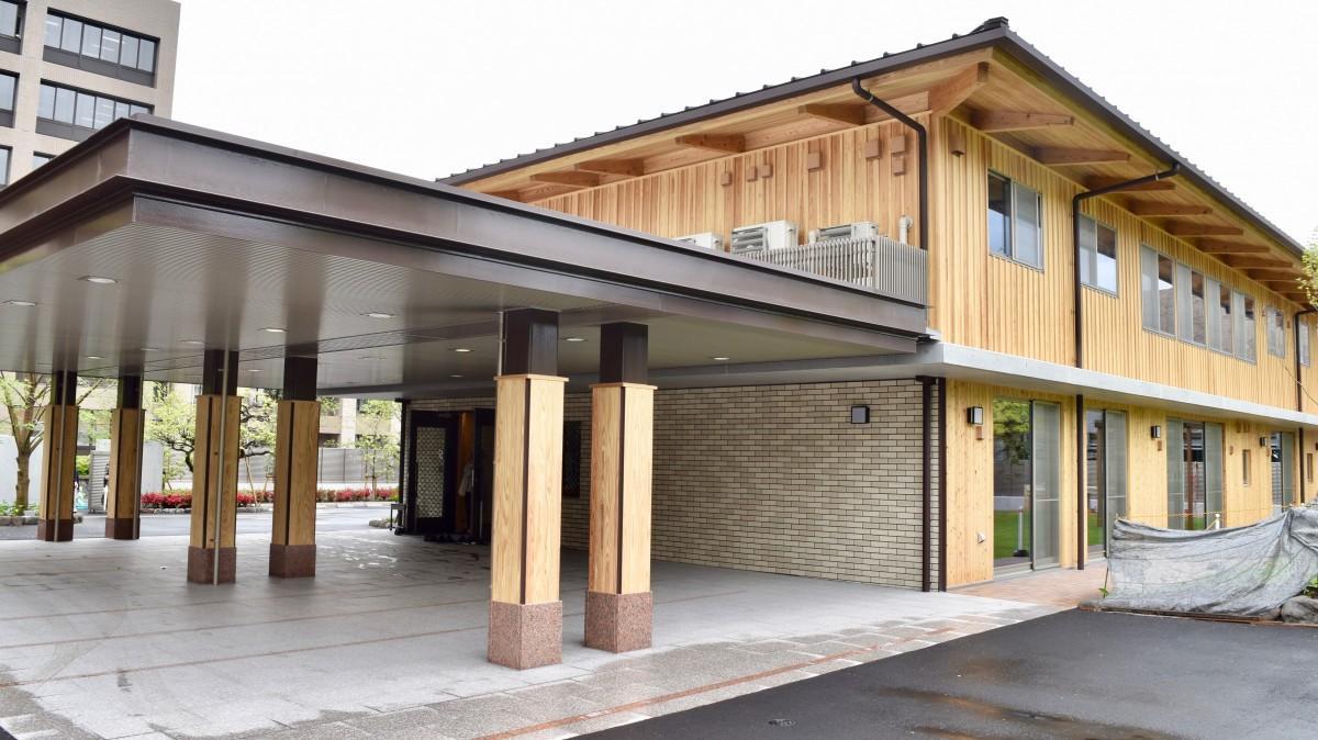 新築した大分県知事公舎