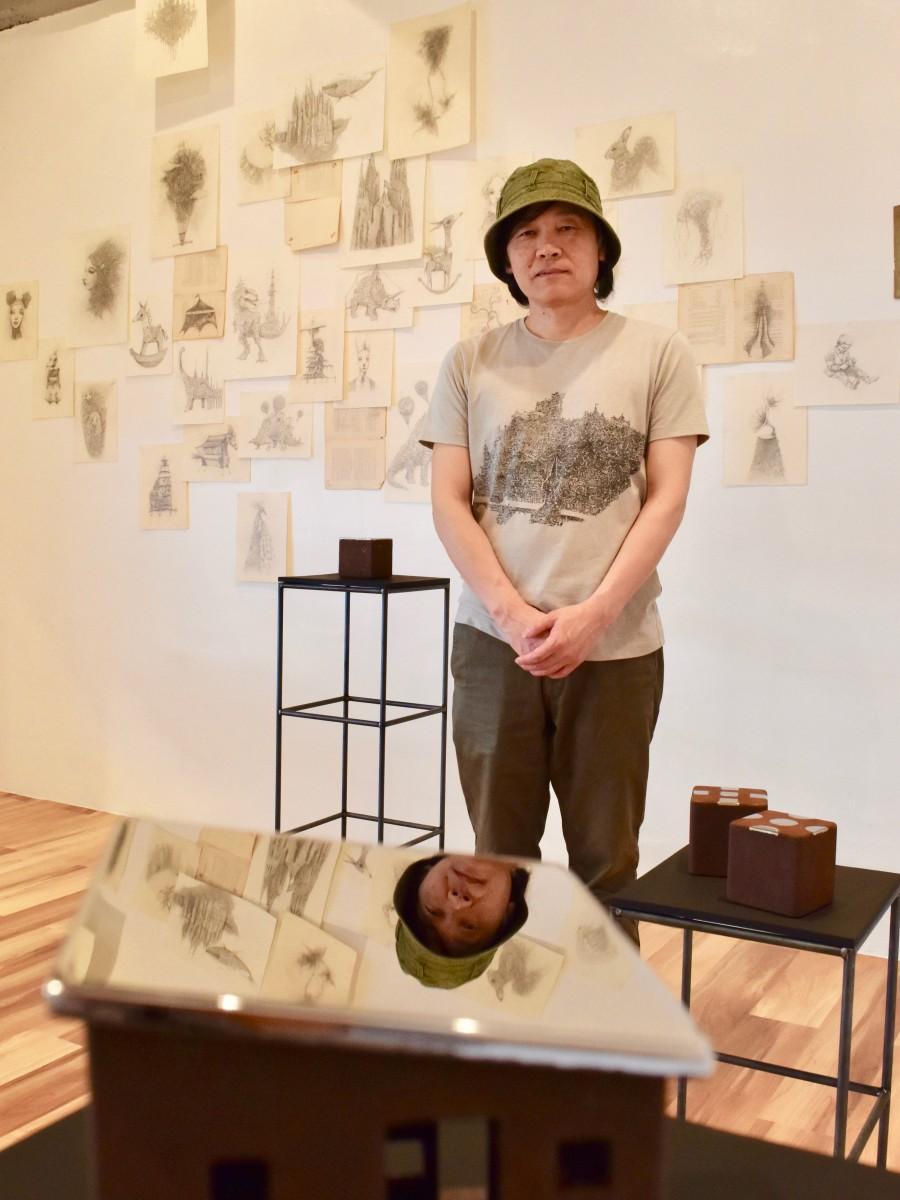 ギャラリーを開設した二宮さん