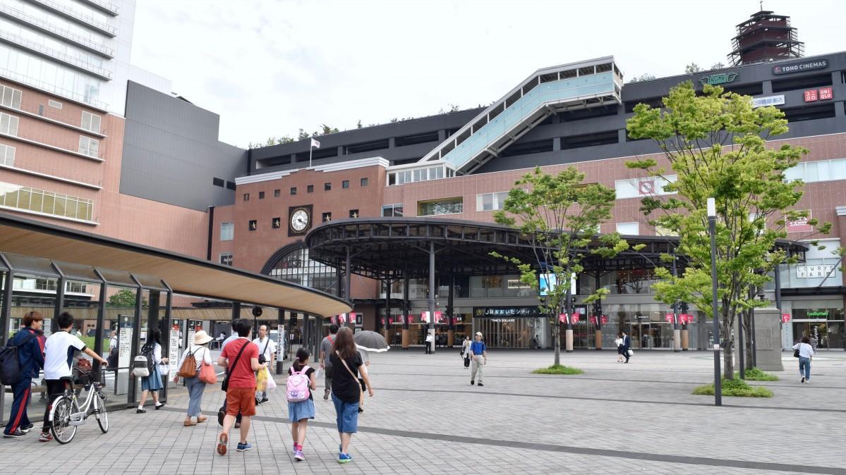 JR大分駅の複合商業施設