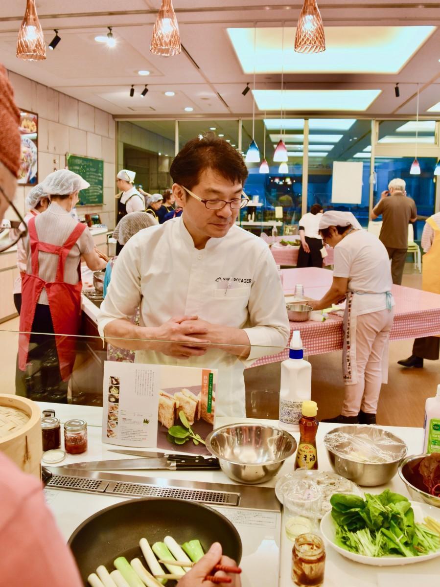 7月20日に開かれた第1回「大分の料理」の様子