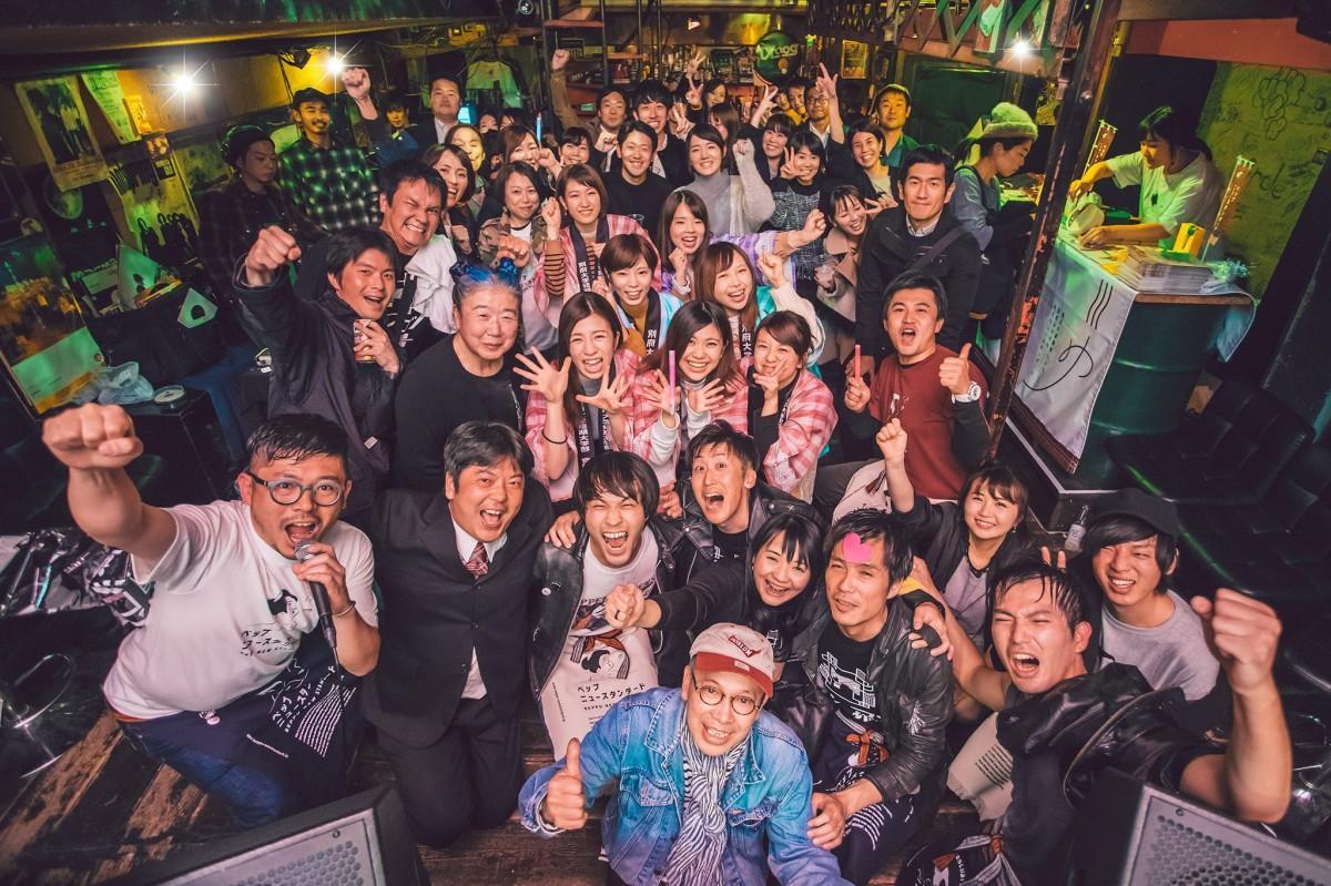 昨年の「Beppu New Standard」(ベップニュースタンダード提供・東京神父さん撮影)