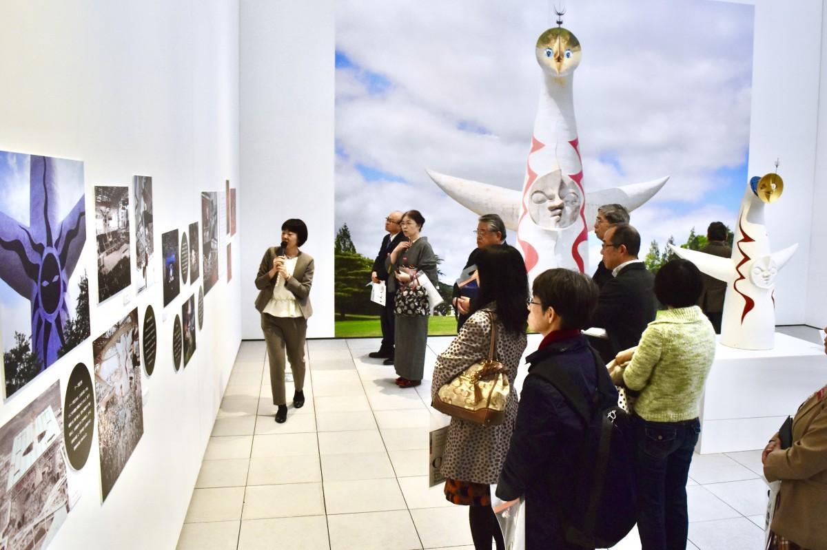 大分県立美術館で始まった「岡本太郎展」