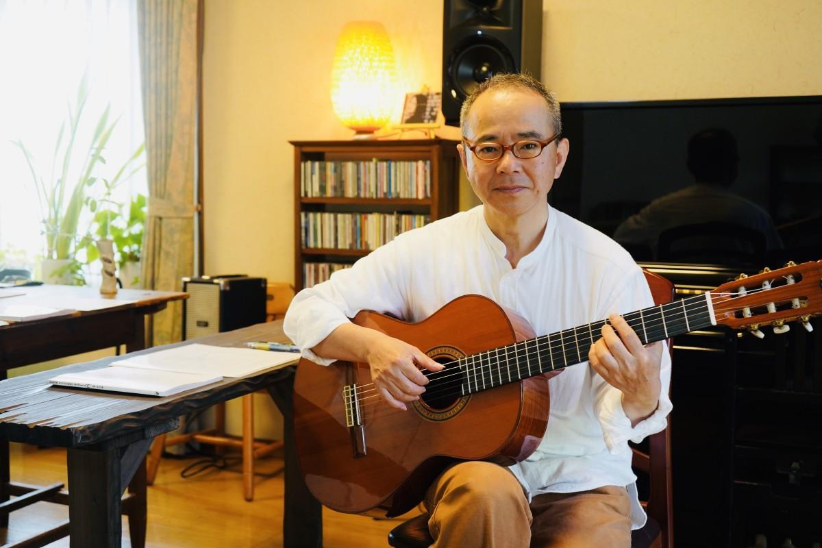 ボサノバとジャズの音楽教室「三月の水」を開いた長尾さん