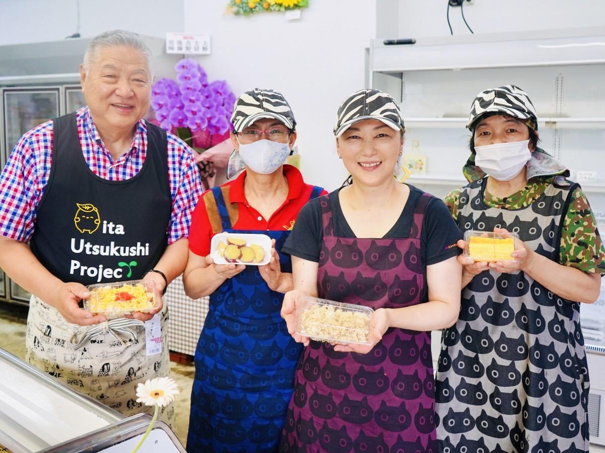 「おかずやエール」のメンバー(左が加藤さん、左から3人目が今泉さん)