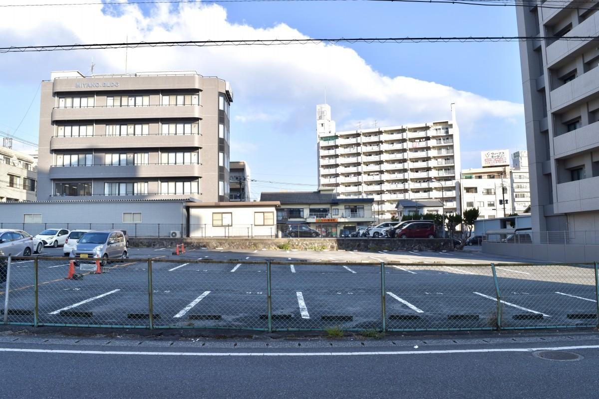 「アパホテル別府駅前」の建設予定地(別府市田の湯町)