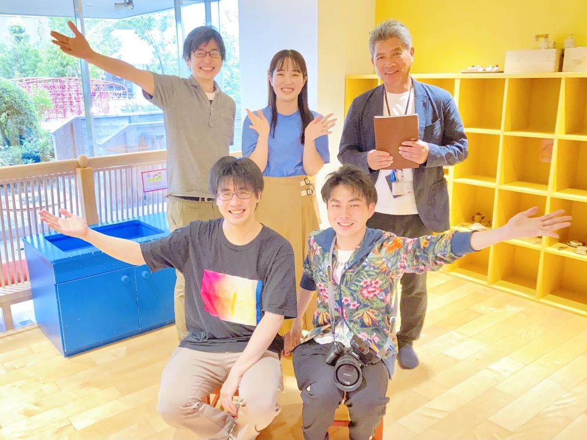 「ちゃちゃくらぶからの脱出」の企画メンバー(後列左が森さん、前列左が花岡さん)