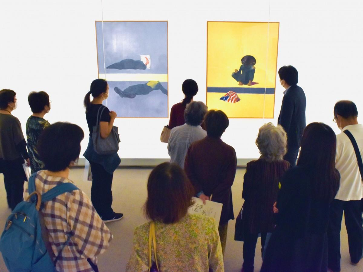 ベトナム戦争を主題に描いた「黒い水」と「黄色い水」