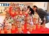 臼杵市で「うすき雛めぐり」 華やか紙人形3千組、スタンプラリーも