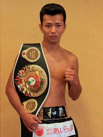 初防衛に成功した「リーゼントボクサー」和氣慎吾選手