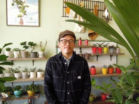 店主の田中光徳(みつのり)さん(38)