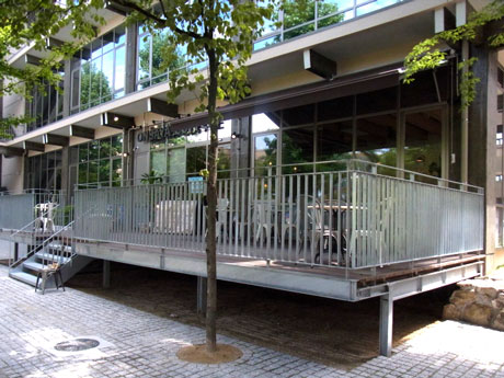 ONSAYA鹿田キャンパス店テラス