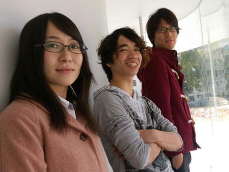 「センキョ割」活動を展開する3人の大学生たち