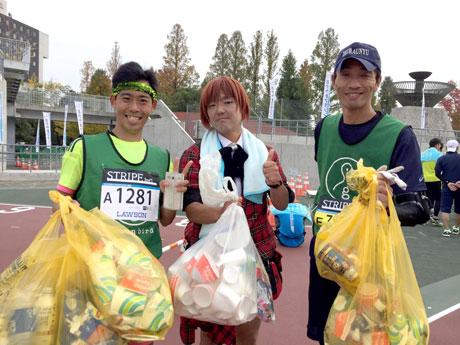 写真左から宮路さん、松木さん、中見さん