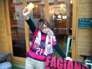 岡山のカフェがファジアーノ岡山応援企画 テークアウトコーヒー、勝利で無料に