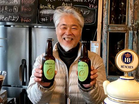 岡山のビール醸造所が宮城県産オオムギ使ったクラフトビール「復興のたより」販売へ