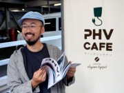 プリウスPHVの電気で「綿がし」コーヒー提供 キノシタショウテンが出店